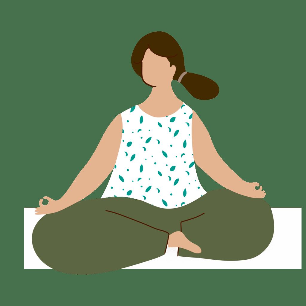 Maman zen et sereine