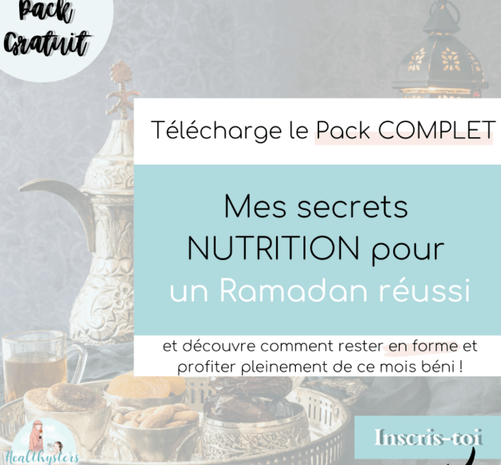 Pack nutrition ramadan